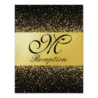 Pure Gold Collection Reception Card