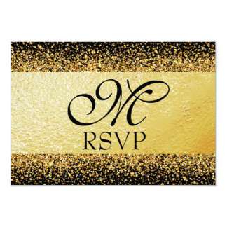 Pure Gold Collection RSVP Card