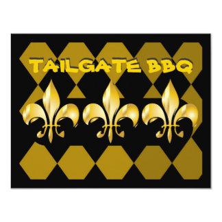 Pure Gold Fleur de Lis Card