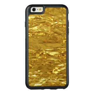 PURE GOLD FOIL Pattern + your text / photo OtterBox iPhone 6/6s Plus Case