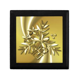 Pure Gold Small Square Gift Box