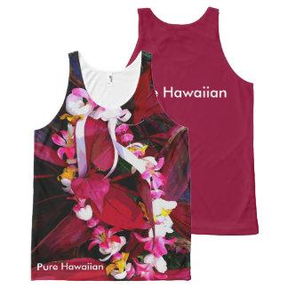 Pure Hawaiian Lei All-Over Print Singlet