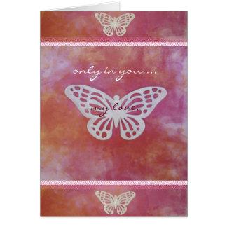 Pure Heart Love Card