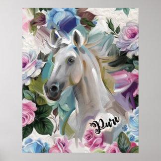 'Pure' Horse art print