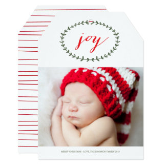 Pure Joy by Origami Prints Holiday Card