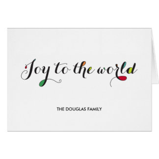 Pure Joy Holiday Greeting Card
