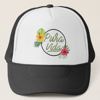 Pure life trucker hat