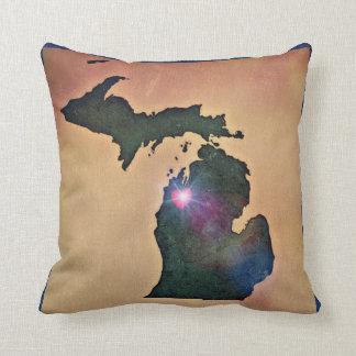Pure Michigan pillow - Traverse City love