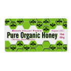 Pure Organic Honey Jar Personalised