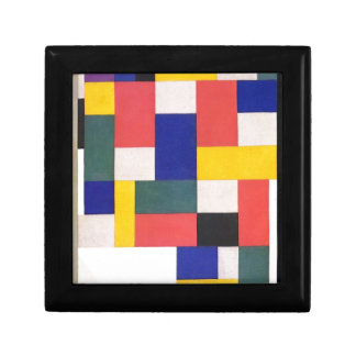 Pure painting by Theo van Doesburg Small Square Gift Box
