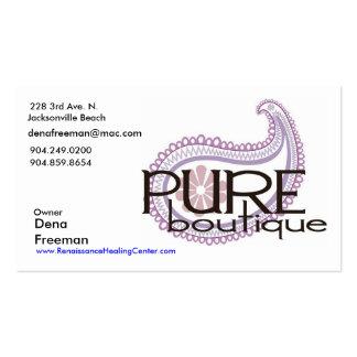 Pure Paisley Logo, Dena Freeman, 228 3rd Ave. N... Business Card Templates