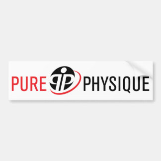 Pure Physique Gear Bumper Sticker