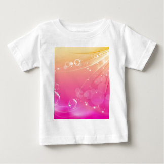 Pure pink abstract background glowing baby T-Shirt