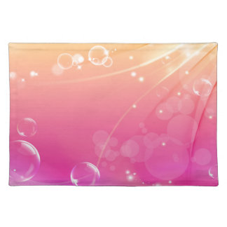 Pure pink abstract background glowing placemat