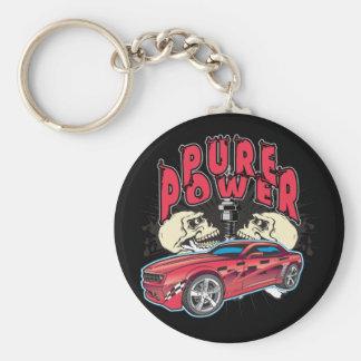 Pure Power Camaro Key Ring