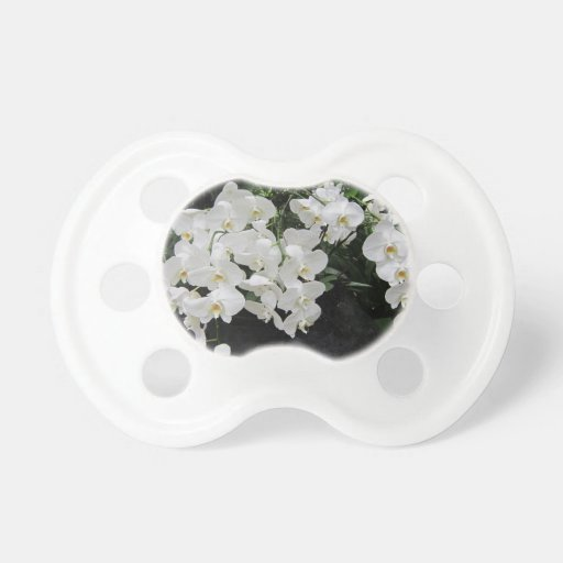 Pure prefection White flowers, Pacifiers