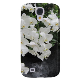 Pure prefection White flowers, Samsung Galaxy S4 Cases