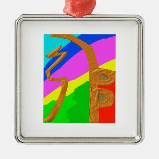 Pure Reiki Master Symbols - SEI HEI KEY Metal Ornament
