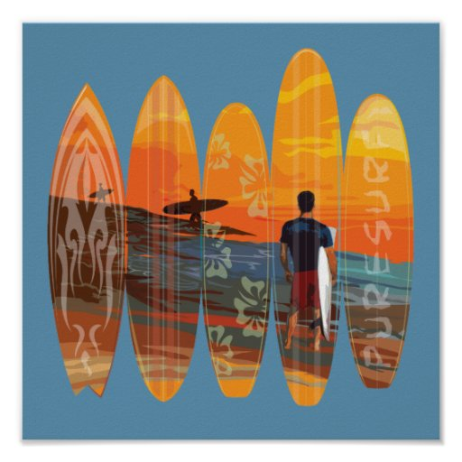 Pure Surfing Print