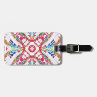 Pure Taste Luggage Tag with Leather Strap