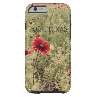 Pure Texas Wildflowers-Indian Blanket iPhone Case Tough iPhone 6 Case