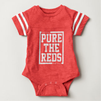 Pure The Reds Retro Baby Bodysuit