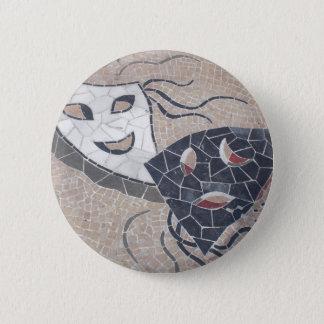Pure theater 6 cm round badge