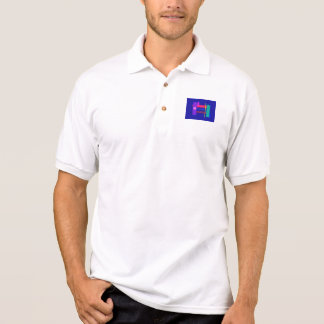Pure Water Navy Polo T-shirt