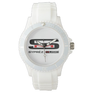 Pure White by Syprez Music Wristwatches
