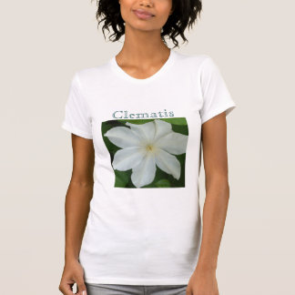 Pure White Clematis T-shirt