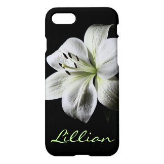 Pure White Lily iPhone 7 case **
