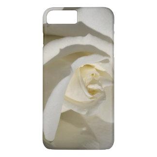Pure White Rose iPhone 7 Plus Case