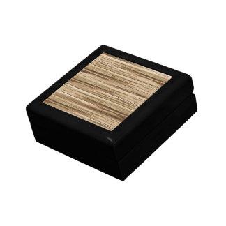 Pure Wood Small Square Gift Box