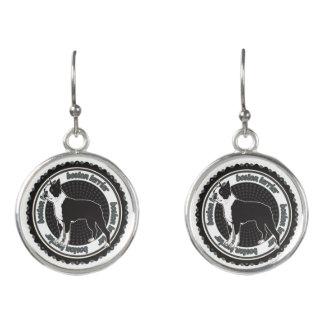 Purebred Boston Terrier Dog Lovers Gift Earrings