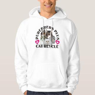 Purebreds Plus Cat Rescue Hoodie