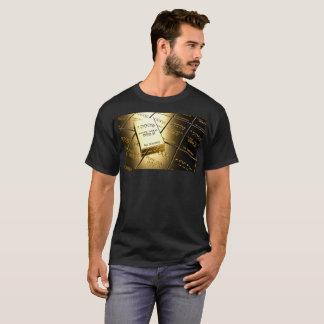 puree gold black Lyons design j235 T-Shirt