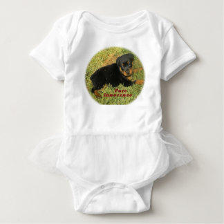 pureinnocence rottweiler puppy baby bodysuit