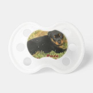 pureinnocence rottweiler puppy dummy