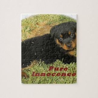pureinnocence rottweiler puppy jigsaw puzzle