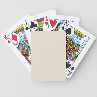 Purely Nostalgic White Color Bicycle Playing Cards