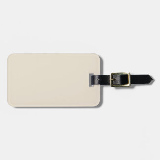 Purely Nostalgic White Color Luggage Tag