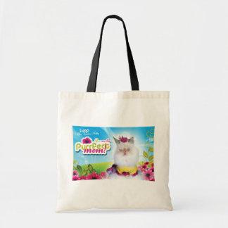 Purffect Mom Tote Budget Tote Bag