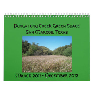 Purgatory Creek Green Space Calender Calendar