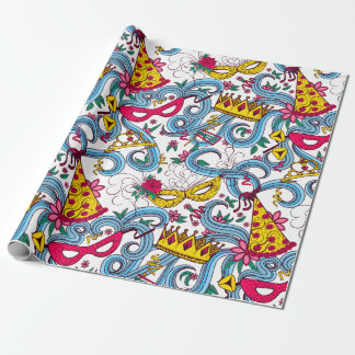 Purim Colorful Wrapping Paper