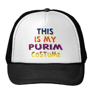 Purim Costume Mesh Hat
