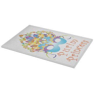 Purim Princess Cutting Board