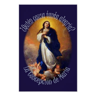 Purisima Nicaragua Virgin Mary Poster