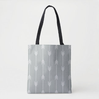 PURITAN GRAY Arrow Pattern Tote Bag