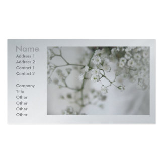 Purity Business Cards