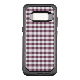 Purpe Table Cloth Pattern OtterBox Commuter Samsung Galaxy S8 Case